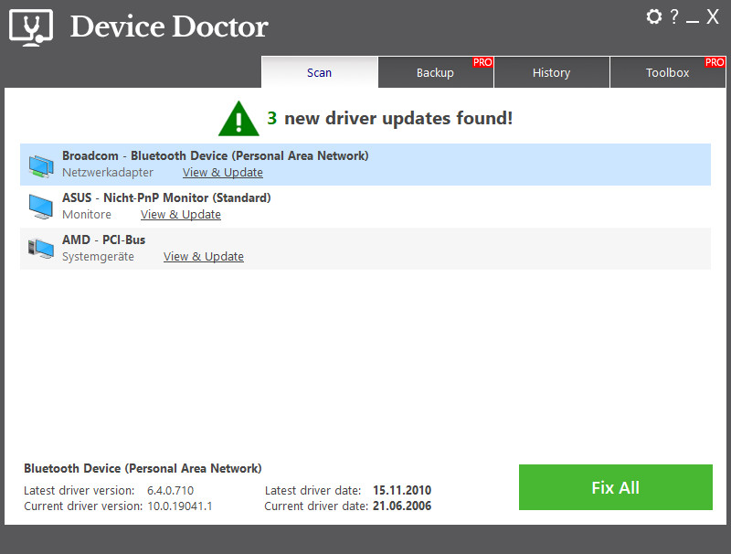 Screenshot 1 - Device Doctor