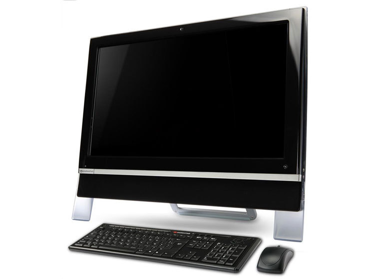 all in one pc mit touchscreen packard bell u5000m bei. Black Bedroom Furniture Sets. Home Design Ideas