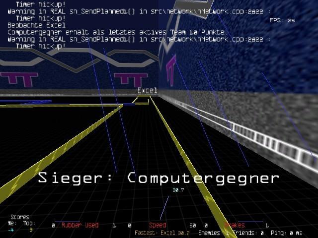 Screenshot 1 - Armagetron Advanced