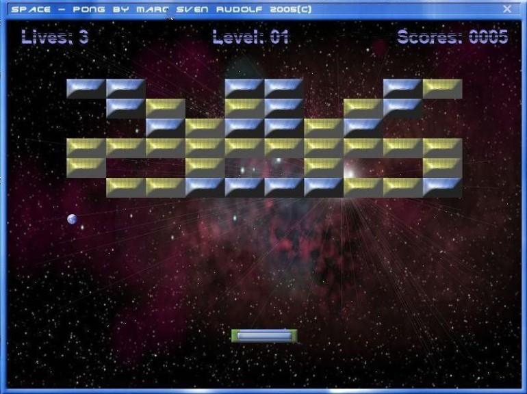 Screenshot 1 - Space Pong