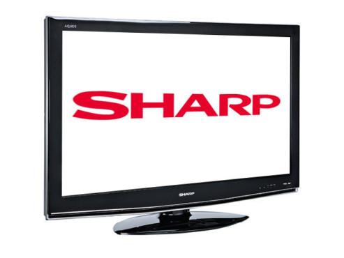 Flachbildfernseher von Sharp