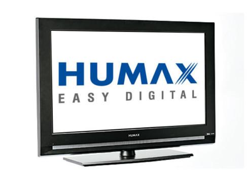 Flachbildfernsehr von Humax