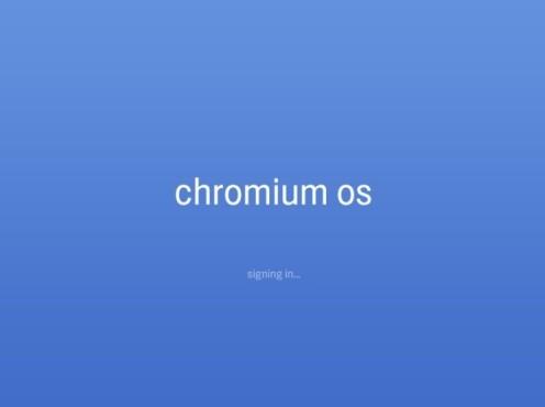 Chrome OS: So sieht das Google-Betriebssystem aus Systemstart