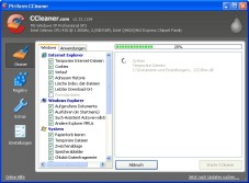 """CCleaner: Mit dem kostenlosen """"CCleaner"""" räumen Sie Ihren Computer gründlich auf."""