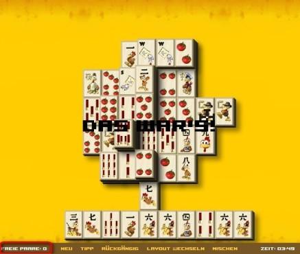 Moorhuhn-Homepage: Moorhuhn Mah-Jongg Online