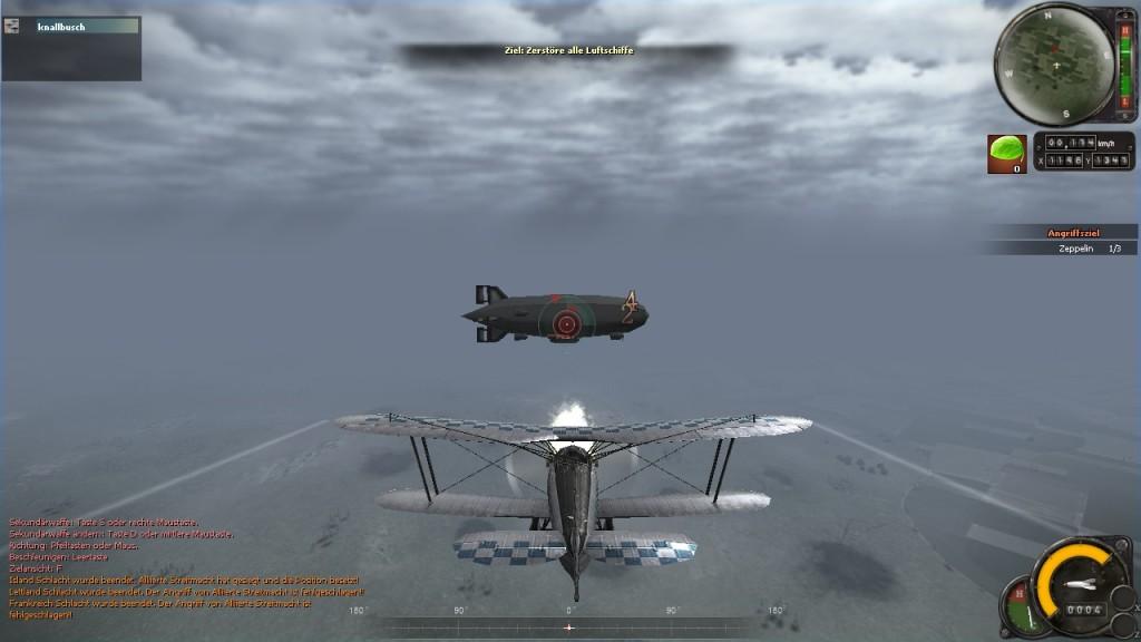 Screenshot 1 - Heroes in the Sky