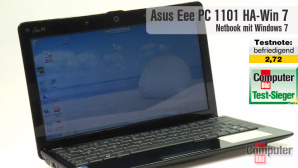 Video: Netbook Asus Eee PC 1101HA-Win-7