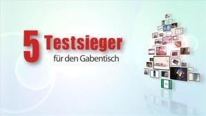 Video: 5 Testsieger f�r den Gabentisch