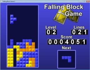 Falling Block Game 2
