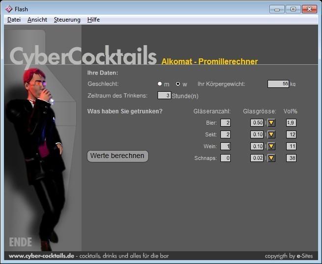 Screenshot 1 - Alkomat
