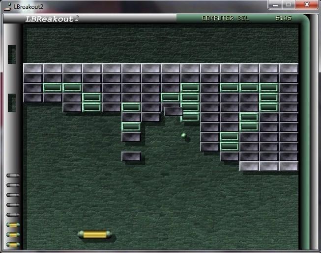 Screenshot 1 - LBreakout2