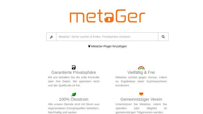 MetaGer ©COMPUTER BILD