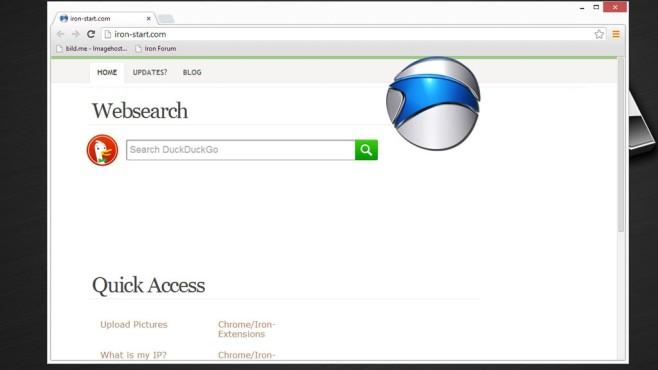 SRWare Iron: Chrome-Klon ohne Google-Anbindung ©COMPUTER BILD
