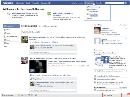 Facebook – Chat