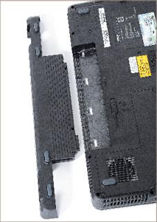 Targa Traveller 1720 MT34 Dank seines großen Akkus hielt das Lidl-Notebook rund drei Stunden ohne Steckdose durch.