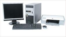 Targa Now 3400+ PC Set Targa Now 3400+ PC Set: Computer, Bildschirm und Drucker im Komplettpaket
