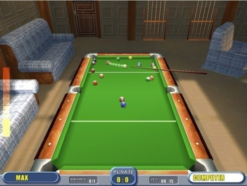 Bildergalerie: 3D Pool Billiard