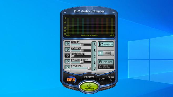 DFX Audio Enhancer: Sound systemweit optimieren ©COMPUTER BILD