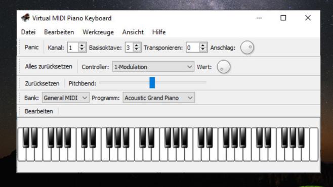 Virtual MIDI Piano Keyboard: Einfach musizieren ©COMPUTER BILD