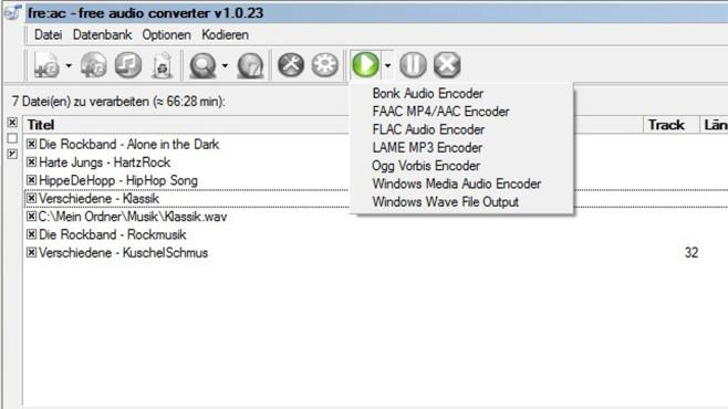 free:ac (Free Audio Converter): Universelles Umwandlungs-Tool ©COMPUTER BILD