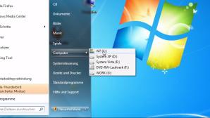 Tipp der Woche: Laufwerke im Windows-Startmen� anzeigen lassen