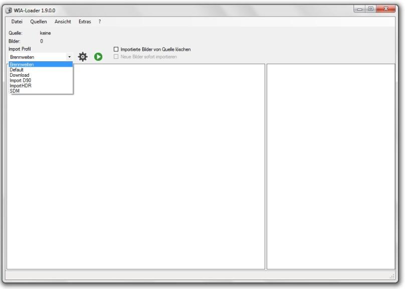 Screenshot 1 - WIA-Loader