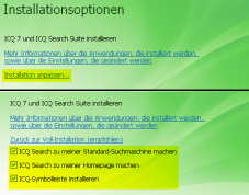 Installationsanleitung ICQ 7