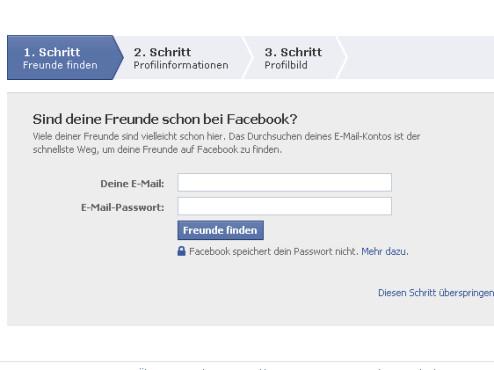 Sicherheitscode: Facebook