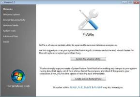 FixWin (Vista & Windows 7)