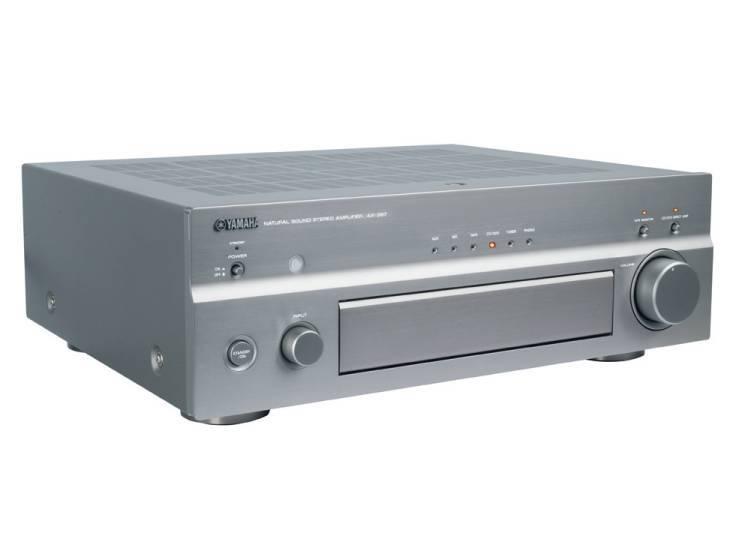 test stereo verst rker yamaha ax 397 audio video foto bild. Black Bedroom Furniture Sets. Home Design Ideas
