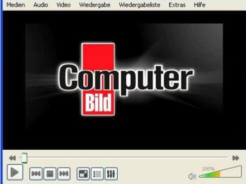 VLC Media Player ©COMPUTER BILD
