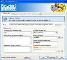 Screenshot Password Depot