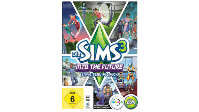 Die Sims 3 – Into the Future: Packshot ©EA