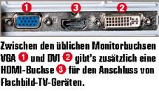 Medion PC 6311: Anschluss