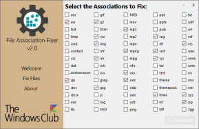 File Association Fixer