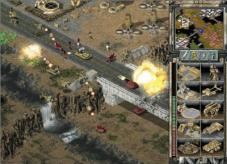 Strategiespiel Command & Conquer – Tiberian Sun: Brücke©Electronic Arts