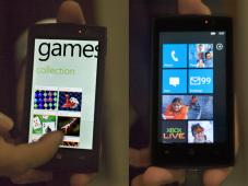 """Windows Phone 7: Neues Smartphone-Betriebssystem von Microsoft Ähnlich zu den Homescreens anderer Hersteller, unterteilt Microsoft die Oberfläche in """"Hubs""""."""