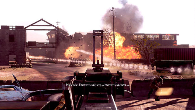 Actionspiel Medal of Honor: Explosionen ©Electronic Arts