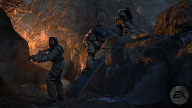 Actionspiel Medal of Honor: Höhle ©Electronic Arts