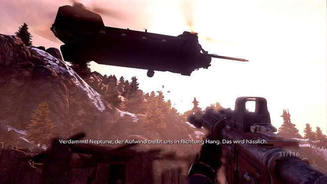 Actionspiel Medal of Honor: Transport-Heli ©Electronic Arts