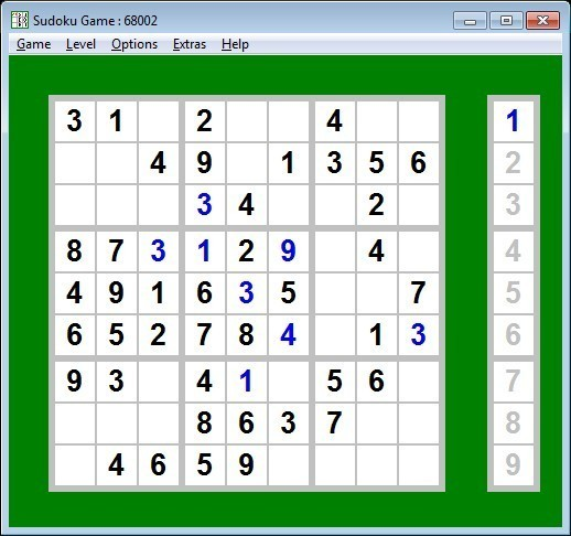 Screenshot 1 - CR-Sudoku