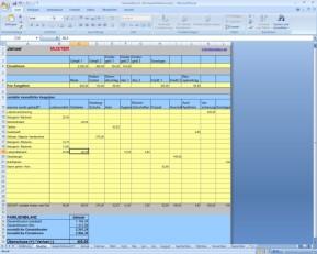 Familienbilanz-Haushaltsbuch