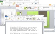 """Office 2010: Aufgrund der Funktionsvielfällt lässt sich mit """"Microsoft Office 2010"""" jede Büroarbeit erledigen."""