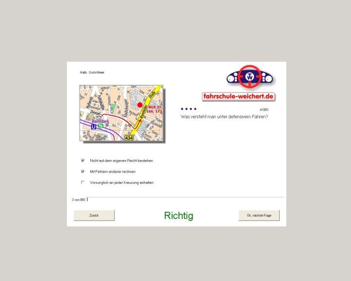 Screenshot 1 - Führerscheinhilfe