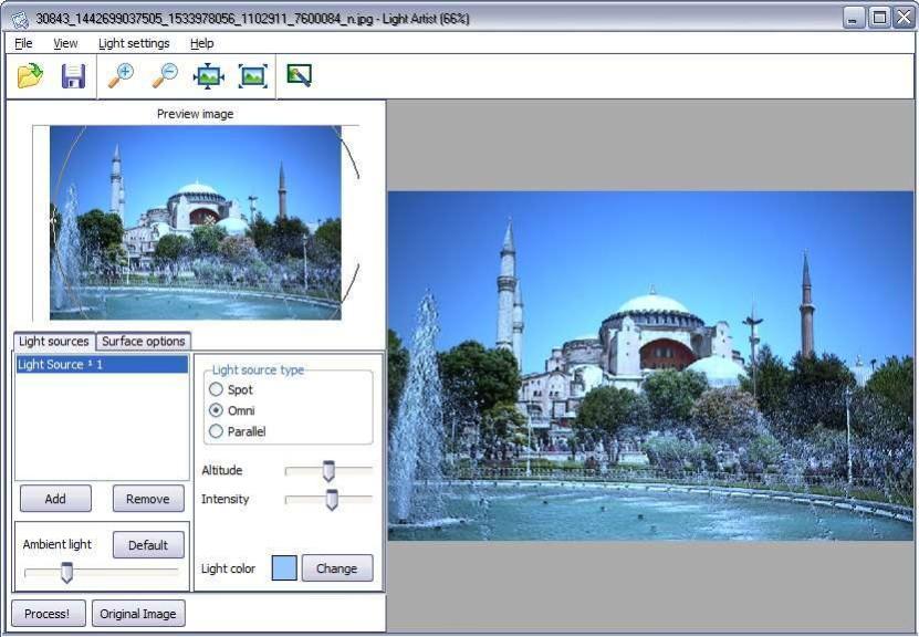 Screenshot 1 - Light Artist