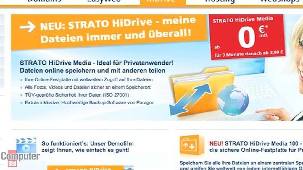 Video: Strato HiDrive – günstige Online-Festplatte
