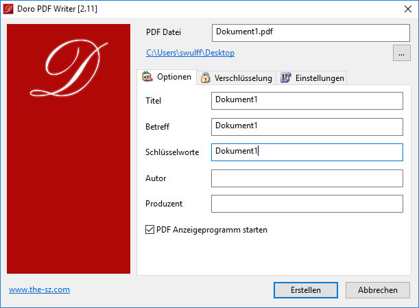 Screenshot 1 - Doro