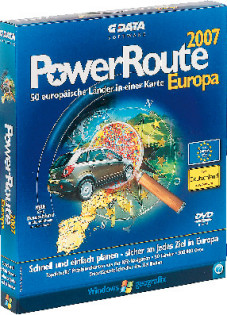G-Data Power Route 2007 Europa