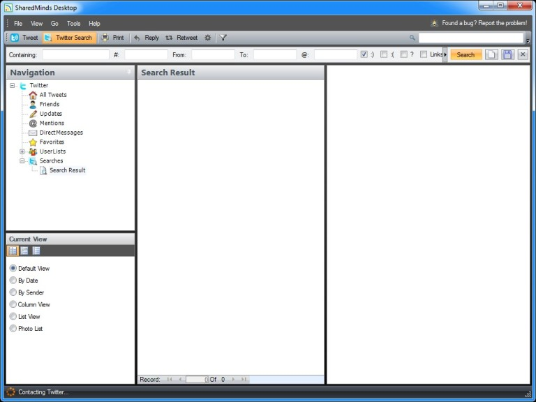 Screenshot 1 - SharedMinds Desktop