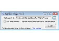 Screenshot 1 - Duplicate Images Finder